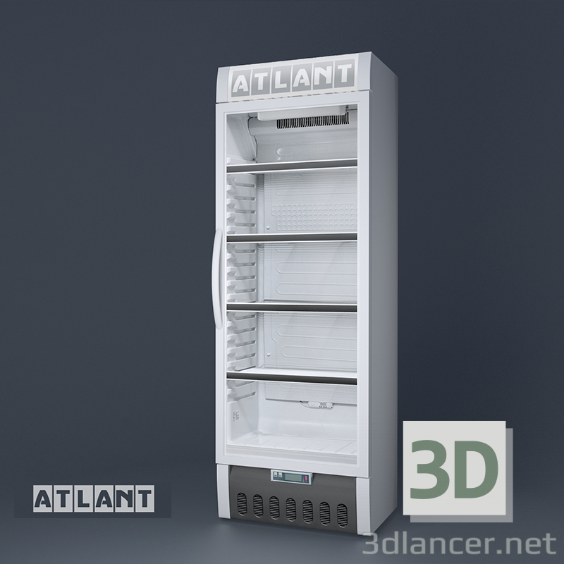 3d model Commercial refrigerator single-chamber ATLANT HT 1006 - preview