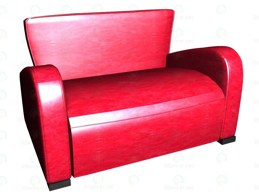 modelo 3D Sofá cama 2 plazas Emily VOX - escuchar