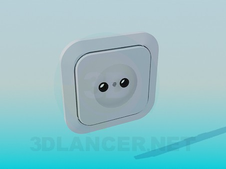 3d model A set of sockets - preview