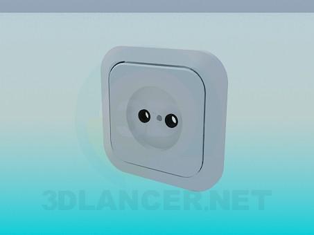 modelo 3D Un conjunto de tomas de corriente - escuchar