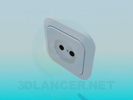3d model A set of sockets - preview