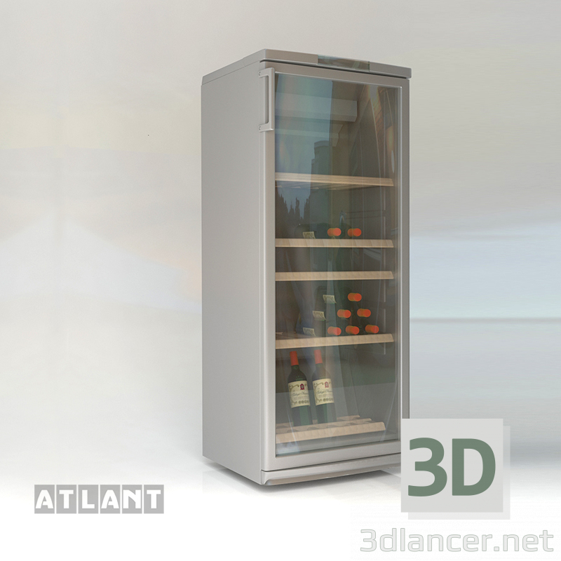 3d model Wine cooler ATLANT HT 1008 - preview