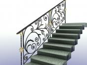 "Fencing design ""Spring vine"" railing"
