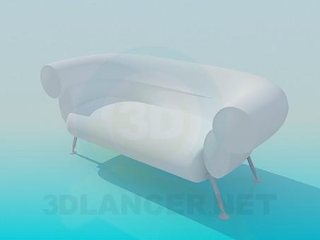 3d модель Софа – превью
