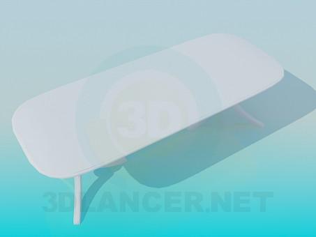 3d модель Обеденный столик – превью
