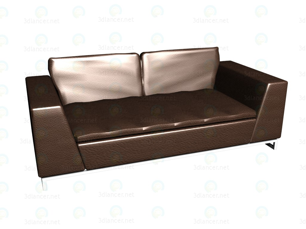 3d modeling Sofa triple bed Avedon model free download