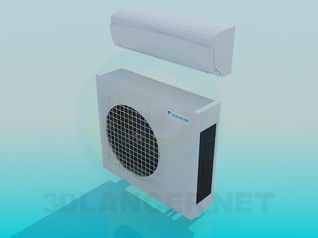 modelo 3D Sistema Split - escuchar