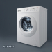 3d model Washing machine ATLANT 9 series SOFT ACTION - preview