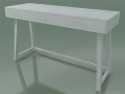 Writing desk with two drawers (50, White)