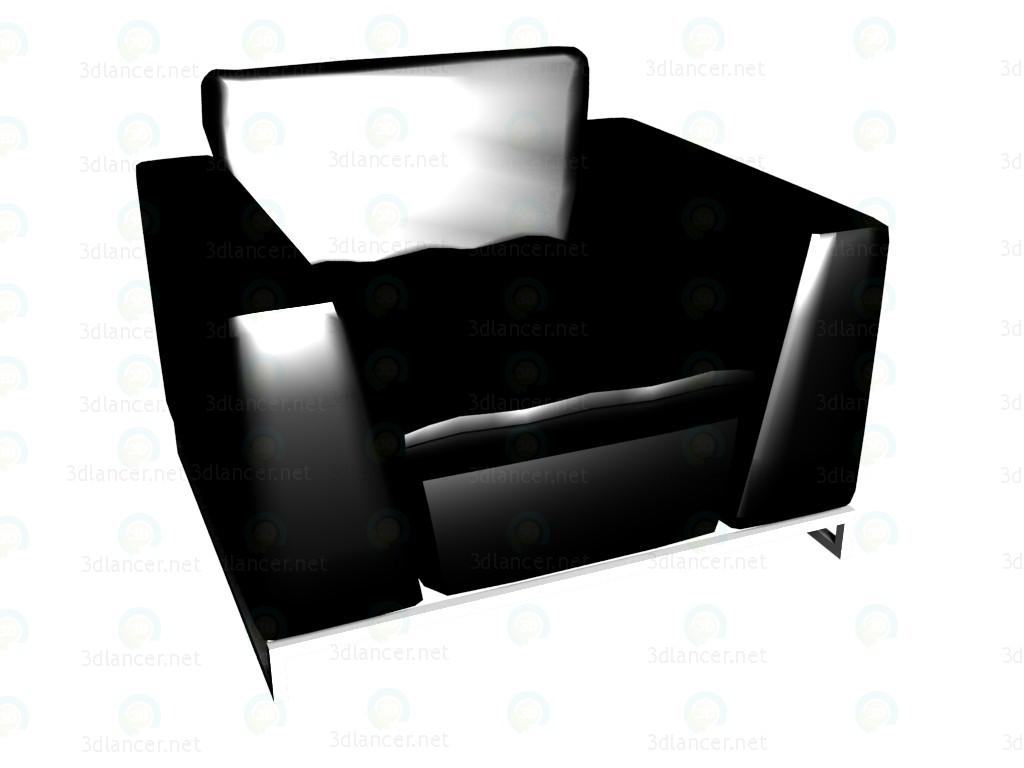 3d model Armchair Avedon VOX - preview