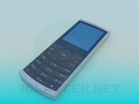 3d model Teléfono móvil - vista previa