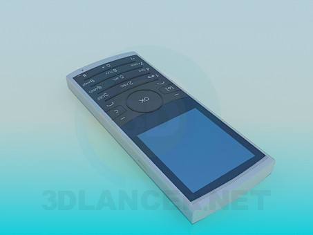3d model Mobile phone - preview