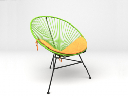 Acapulco Green Chair. Sim-Trade.