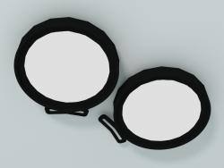 Set di 2 lampade LED ø160 mm (AC024 A)