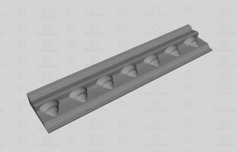 descarga gratuita de 3D modelado modelo Cornisa