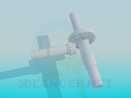descarga gratuita de 3D modelado modelo Engranaje de