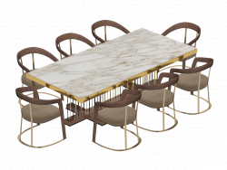 Table Schubert by Longhi
