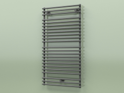 Heated towel rail - Santorini (SAN 11 600 mm, RAL - 9005)
