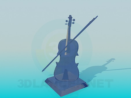 3d model Souvenir-violin - preview