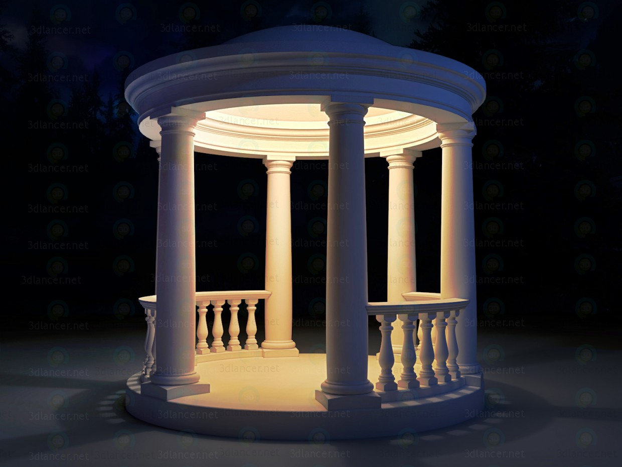 3d model The Rotunda - preview