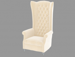 Armchair AVERY bergere trono