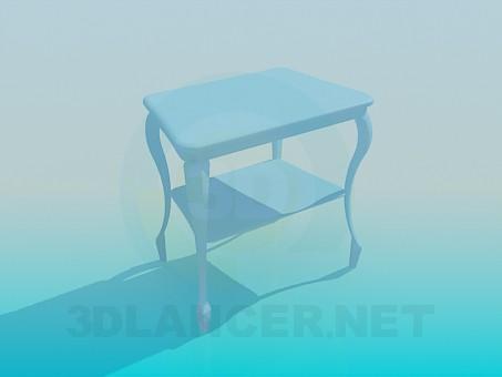 3d моделювання Столик модель завантажити безкоштовно