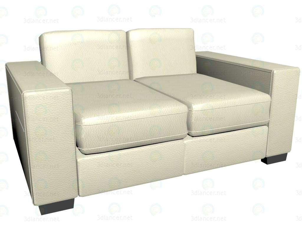 3d model Sofa double bed James - preview