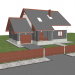 3d Home 01 model buy - render