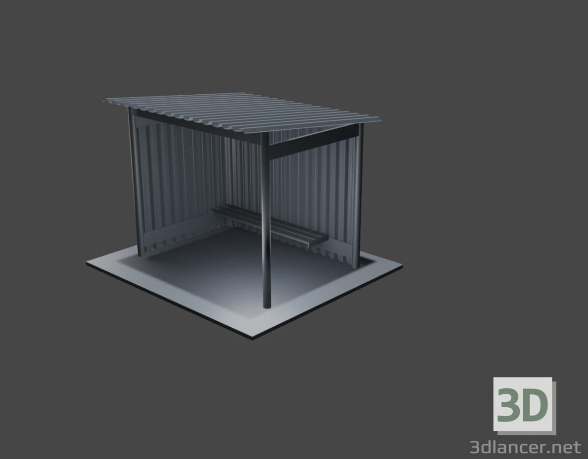 3d model stop - preview