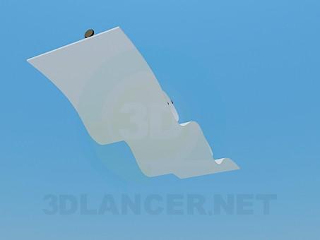 3d model Wavy light - preview