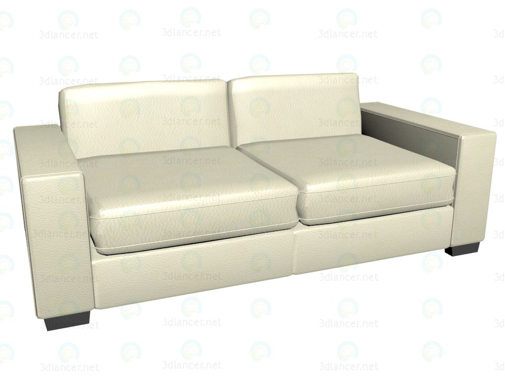 3d model Sofa triple bed James - preview