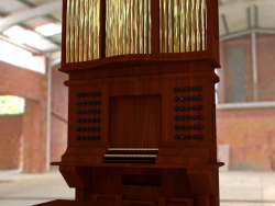 A small musical organ