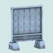 3d Reinforced concrete fence slab PO-2 model buy - render