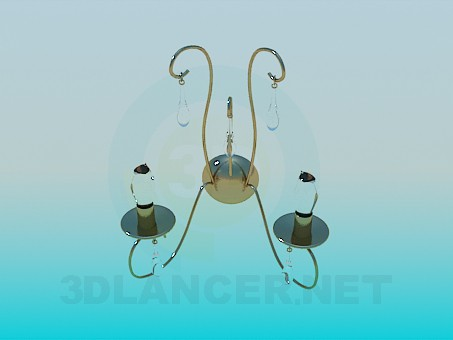 3d model Neat Wall lamp - preview