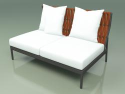 Central sofa module 106 (Belt Orange)
