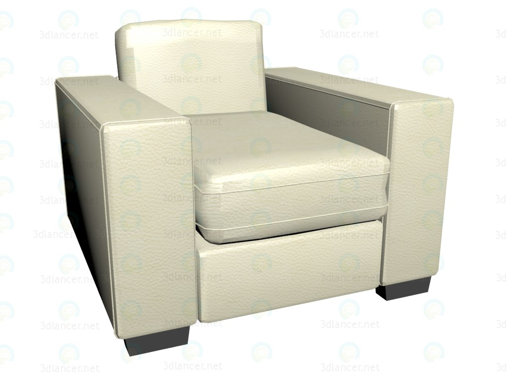 3d model Chair James - preview