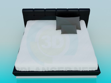 3d моделирование Кровать модель скачать бесплатно
