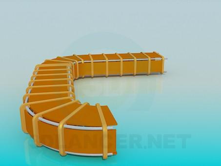 3d модель Тунель для дітей – превью