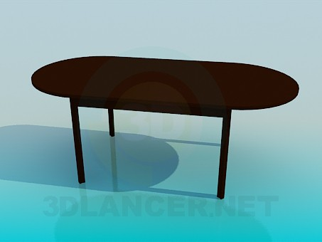 3d modeling Table without corners model free download