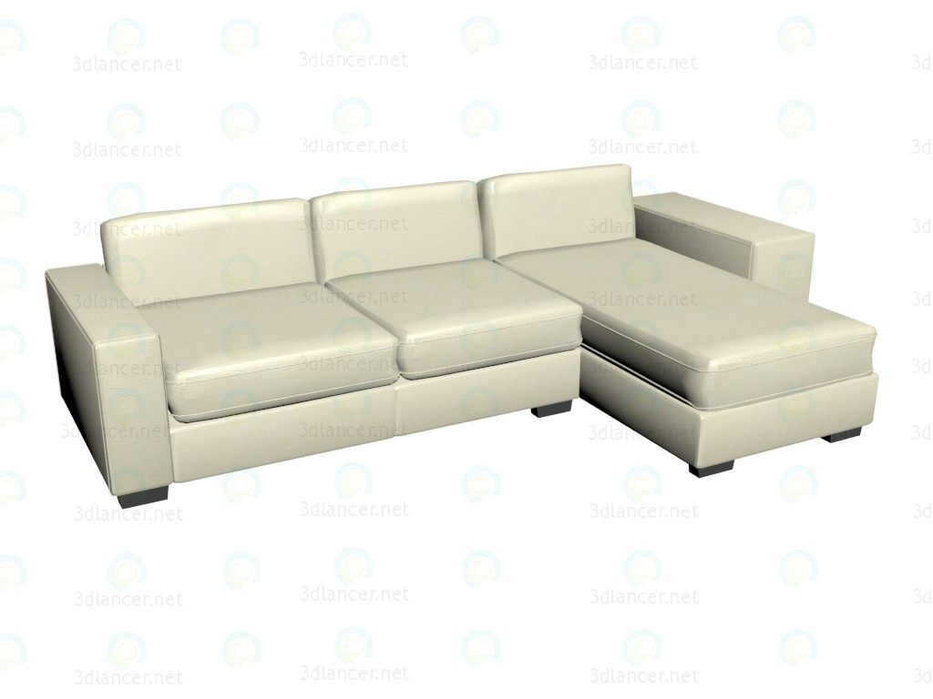 modelo 3D Sofá de la esquina James VOX - escuchar
