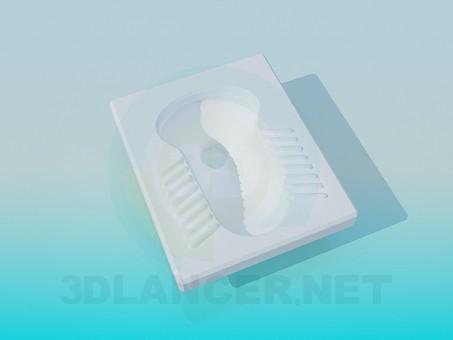 modelo 3D Aseo de piso - escuchar