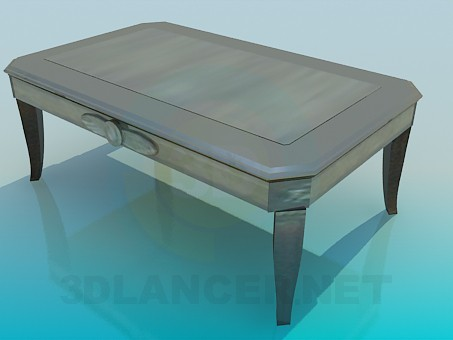3d model Gray Coffee Table - preview