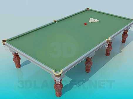 3d model Billiard table - preview