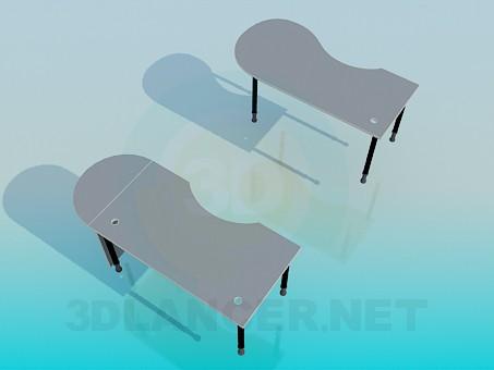 3d modeling Tables model free download