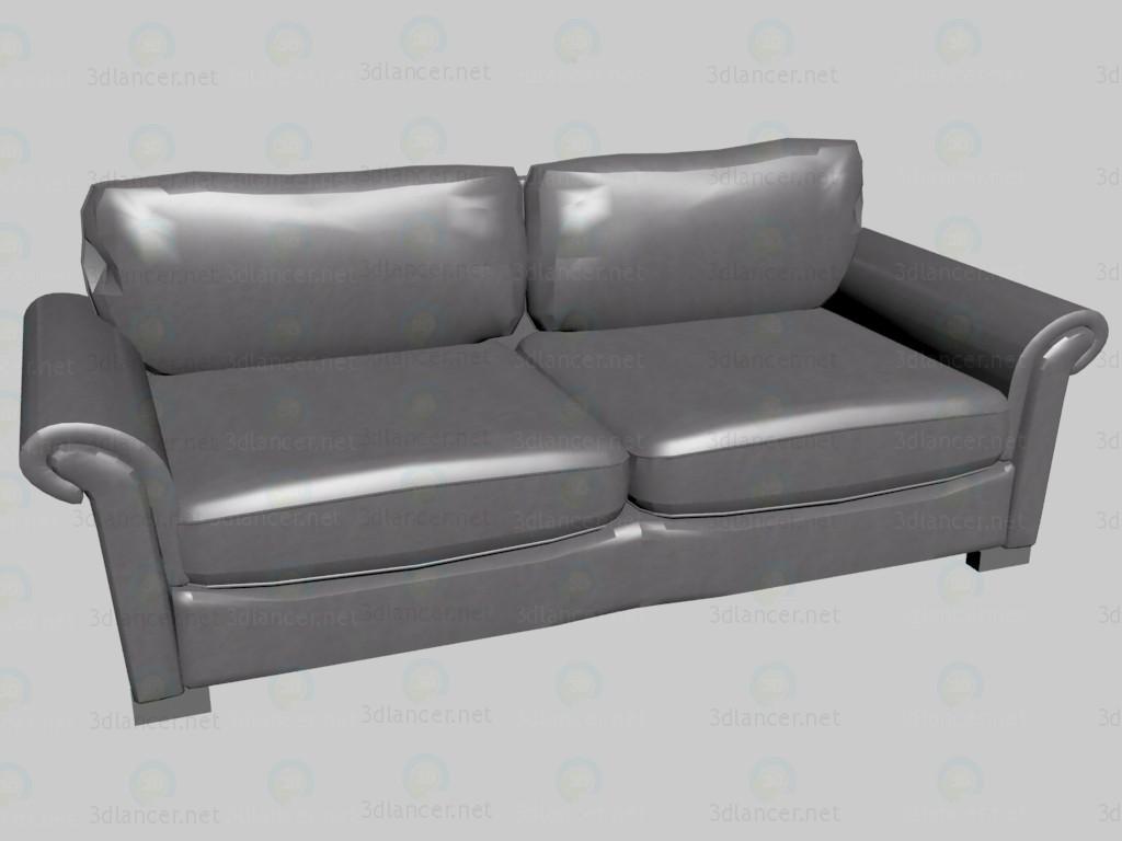 3d model Sofa triple bed Klimt - preview