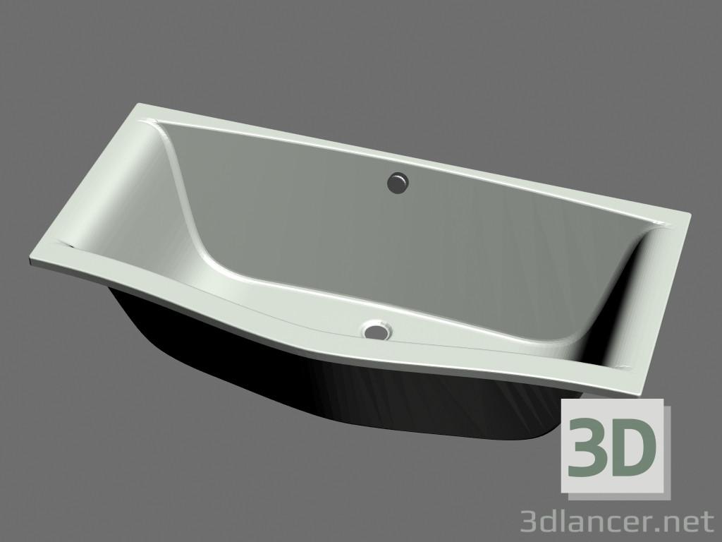 3d modella vasca da bagno magnolia 170 x 75 dal produttore ravak
