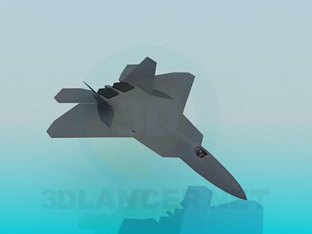 modelo 3D Avión - escuchar