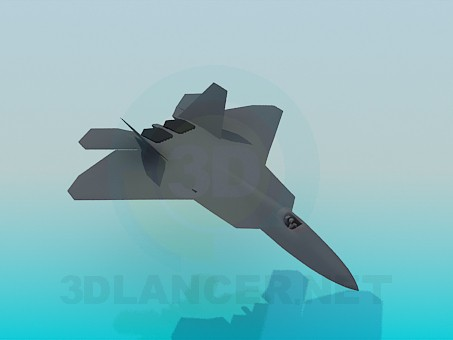 3d модель Літак – превью