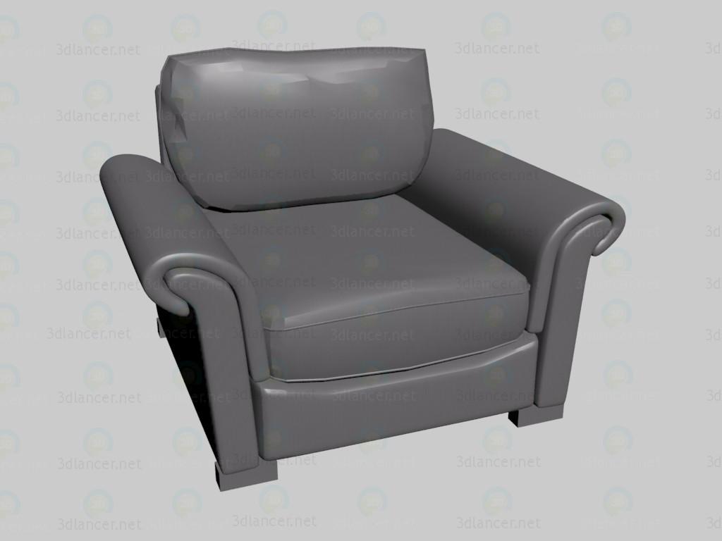 3d модель Кресло Klimt VOX – превью