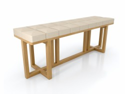 Stool Oak Dot